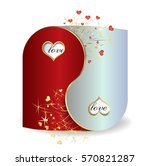 card for valentine's day  as a...   Shutterstock .eps vector #570821287