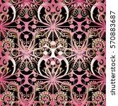 modern abstract seamless... | Shutterstock .eps vector #570883687