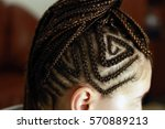 Head Of A Girl With Braided...