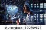 innovative technologies in... | Shutterstock . vector #570909517
