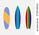 surfboard  surf boards icon ... | Shutterstock .eps vector #570918043