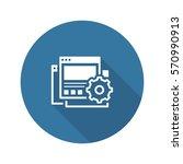 landing page generator icon....