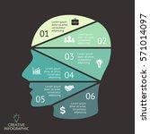 Vector Brain Infographic....