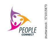 vector logo people | Shutterstock .eps vector #571015873