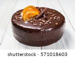 Dark Chocolate Vegan Cake With...