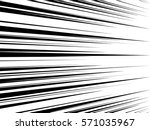comic book speed lines.... | Shutterstock .eps vector #571035967