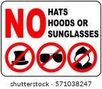 no aviator sunglasses  no hats  ...