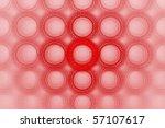 vivid bold red bubble circle... | Shutterstock . vector #57107617