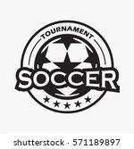 soccer  football tournament... | Shutterstock .eps vector #571189897