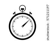 analog chronometer icon image... | Shutterstock .eps vector #571211197