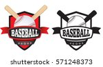 shield or logo badge to... | Shutterstock .eps vector #571248373