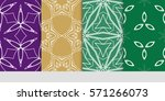 set of linear geometric...   Shutterstock .eps vector #571266073
