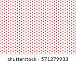 polka dot pattern vector.    Shutterstock .eps vector #571279933