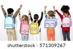 Children School Friends...