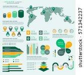 infographics elements... | Shutterstock .eps vector #571342237
