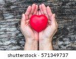 women s heart health care ... | Shutterstock . vector #571349737