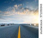 at dusk highway  modern... | Shutterstock . vector #571350343
