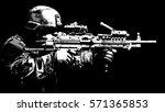 united states marine corps...   Shutterstock . vector #571365853