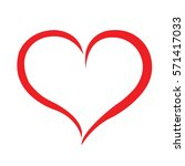 heart red | Shutterstock .eps vector #571417033