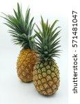 ripe pineapple | Shutterstock . vector #571481047