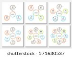 business data visualization.... | Shutterstock .eps vector #571630537