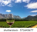 Small photo of Franschhoek wine tasting in the Western Cape, South Africa.