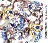 abstract vector watercolor...   Shutterstock .eps vector #571668847