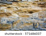 abstract weathered texture... | Shutterstock . vector #571686037