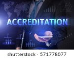 Small photo of Businessman Use Smartphone And Selecting Accreditation, Touch Screen. Virtual Icon. Graphs Interface. Business concept. Internet concept. Digital Interfaces