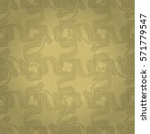 soft brown  yellow beige... | Shutterstock .eps vector #571779547