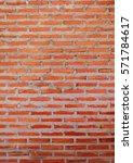 pattern of old historic brick... | Shutterstock . vector #571784617