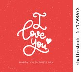 I Love You. Happy Valentine's...