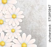 abstract floral background with ...   Shutterstock .eps vector #571893847