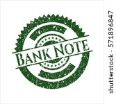 green bank note distress with... | Shutterstock .eps vector #571896847