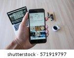 chiang mai  thailand   feb 03   ... | Shutterstock . vector #571919797