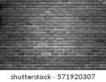 Black Brick Walls Backdrop...