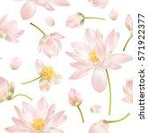 Vector Botanical Seamless...
