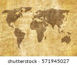 old map | Shutterstock . vector #571945027