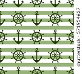 vector seamless pattern with... | Shutterstock .eps vector #571954627