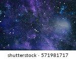 high definition star field... | Shutterstock . vector #571981717