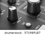 buttons equipment for sound... | Shutterstock . vector #571989187