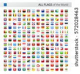 vector collection of all world... | Shutterstock .eps vector #572028463