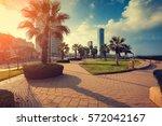 Panoramic View Of Netanya City...