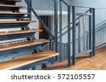 modern stair case design  ... | Shutterstock . vector #572105557