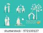 vector illustration set of... | Shutterstock .eps vector #572133127