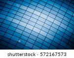 glass wall details full frame... | Shutterstock . vector #572167573