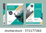 poster flyer pamphlet brochure... | Shutterstock .eps vector #572177383