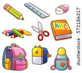 vector illustration of cartoon...   Shutterstock .eps vector #572186317