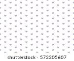 heart pattern. valentines day...   Shutterstock .eps vector #572205607