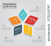 infographic design template... | Shutterstock .eps vector #572213797